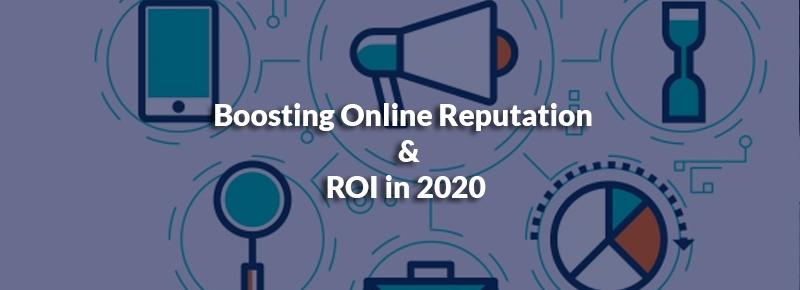 Boosting Online Reputation
